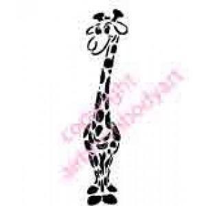 0276 giraffe reusable stencil